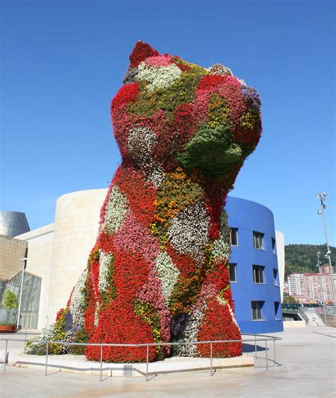jeff koons puppy coolest pieces of modern scene360