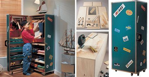costruire armadio baule armadio per bambini come costruirlo fai da te