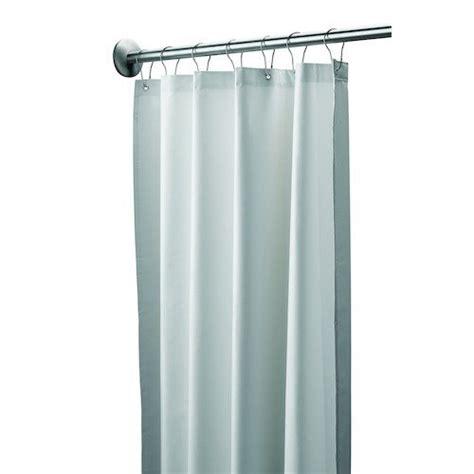 48 length curtains bradley 9537 487200 vinyl antimicrobial shower curtain 48