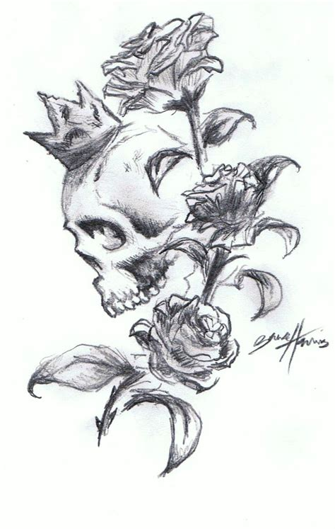 skull n rose tattoo 28 best skull and and butterfly stensils