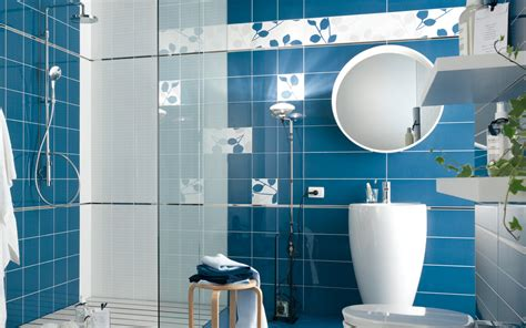 blue bathroom tiles design blue bathroom tiles 4685