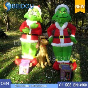all outdoors christmas balloons china airblown grinch inflatables balloon outdoor grinch china