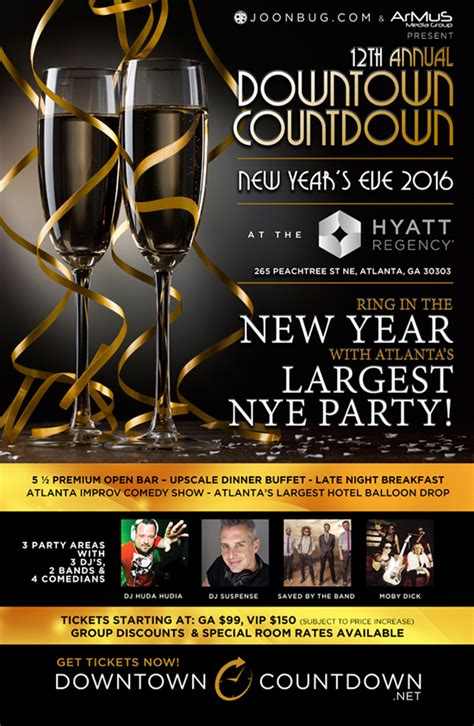 discount tickets for downtown countdown new year s eve