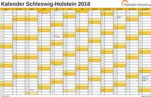 Kalender 2018 Schleswig Holstein Feiertage 2018 Schleswig Holstein Kalender