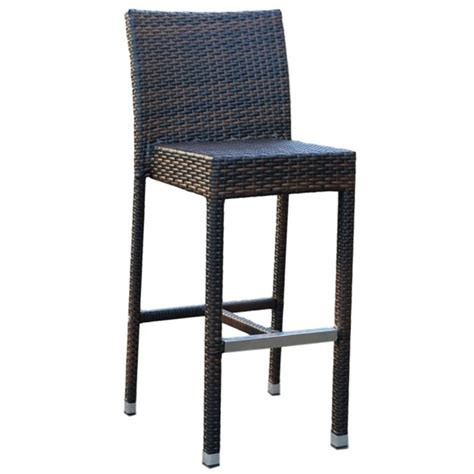 commercial outdoor bar stools pia rattan bar stool outdoor commercial apex