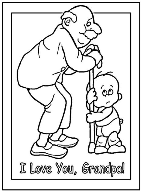 Grandparent Coloring Pages Grandparents Day Coloring Pages To Print And Color by Grandparent Coloring Pages