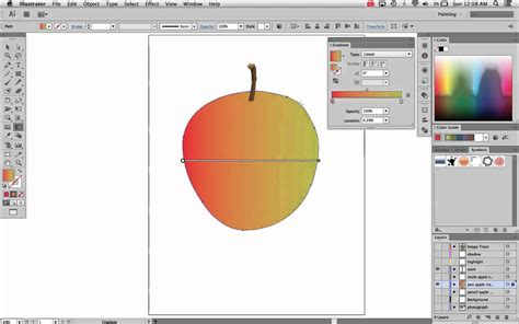 adobe illustrator cs6 gradient adobe illustrator cs6 8 advanced gradient tool youtube