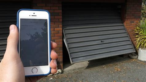Garage Door Smartphone by Build A Smartphone Connected Garage Door Opener With An