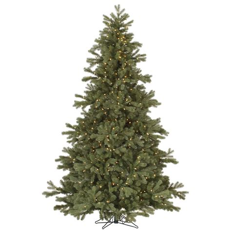 7 5 frasier fir pre lighted christmas tree dura lit lights