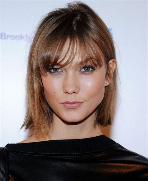 blunt below ear straight bob short behind the ears bob hairstyles for 2013