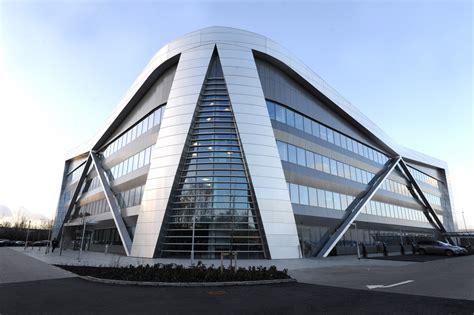 volkswagen headquarters rainscreen system for vw headquarters
