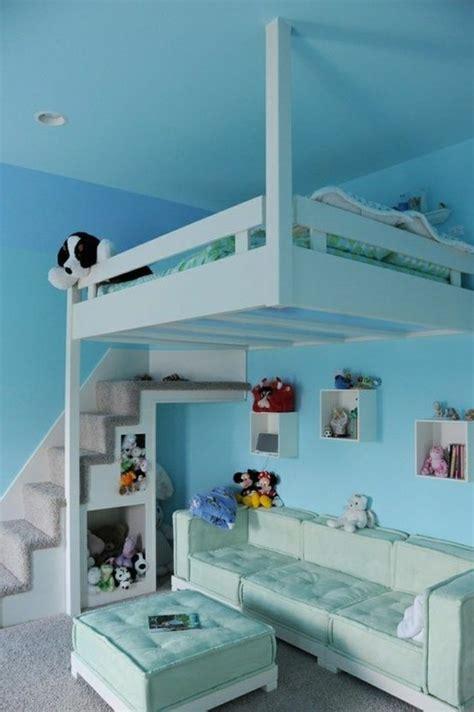 wohnideen hochbett jugendzimmer mit hochbett 90 raumideen f 252 r teenagers