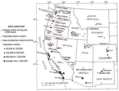 united states volcanoes map volcanoes of the united states usgs