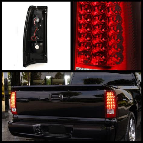 2003 chevy silverado led tail lights onebigoutlet 2003 2006 chevy silverado tail lights