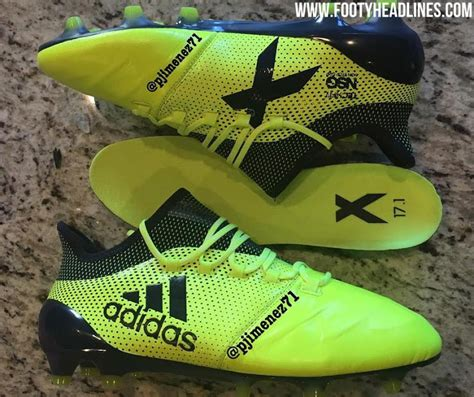 new pictures next adidas x 17 leather 2017 18 boots leaked footy headlines