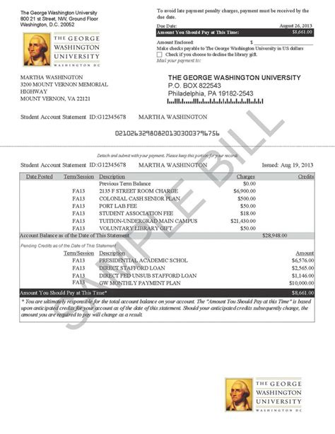 tuition bill template gse bookbinder co