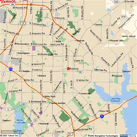 garland texas map garland texas map