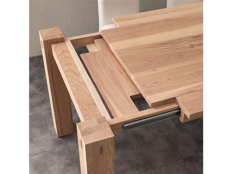 tavoli rettangolari allungabili in legno tavolo la seggiola tavolo in abete di massello