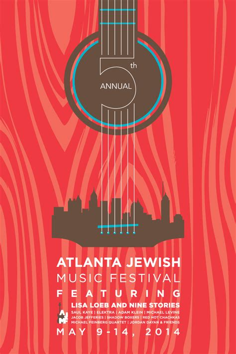 design poster music a music festival poster that combines both guitar and city