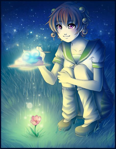 anime girl with fireflies painting life olivia by firefly raye on deviantart