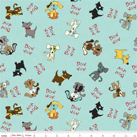 puppy fabric aqua blue puppy fabric puppy park by blvd for
