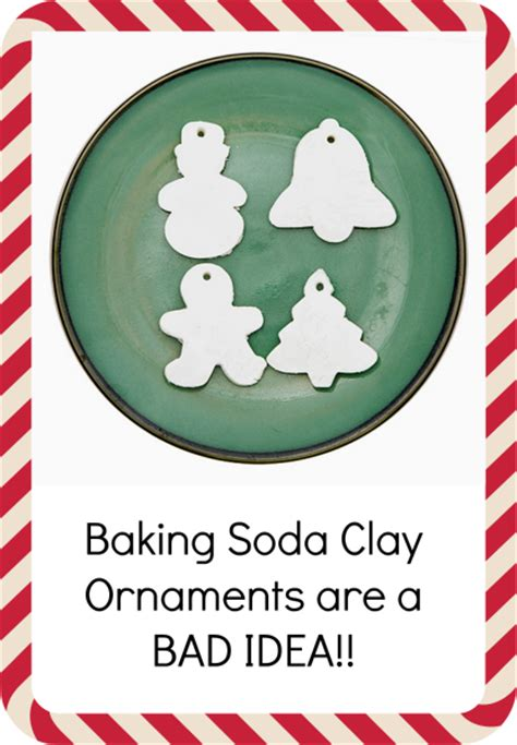 no baking christmas ornaments baking soda clay ornaments review does it work green idea reviews