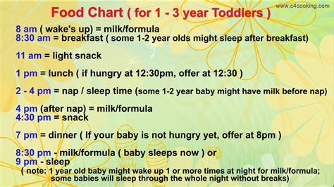 1 Year Baby Food - diet food for 1 year baby diet plan