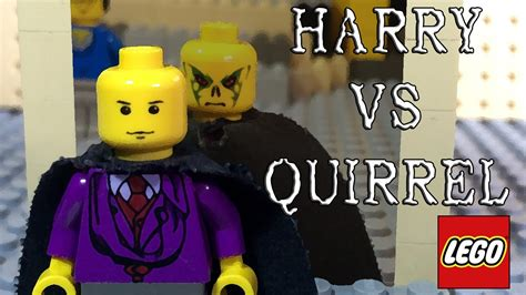 harry potter  profesor quirrel lego stop motion