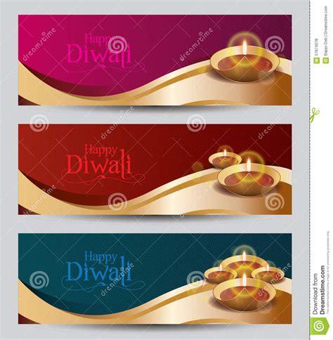 banner design deepavali vector diwali banner design templat stock vector image