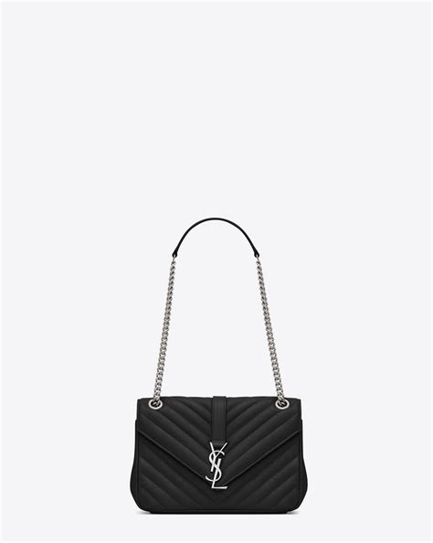 saint laurent classic medium monogram saint laurent chain