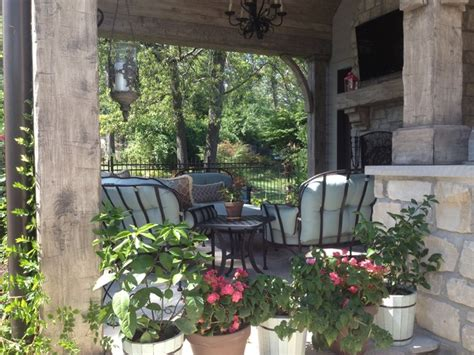 Mitchell Wall Architecture Design by Outdoor Living Area Traditional Patio St Louis By