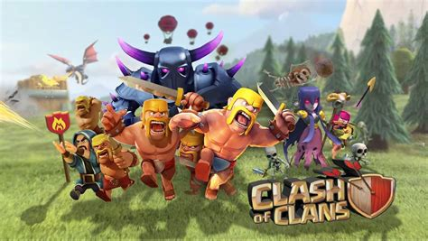 download game coc mod flame wall 60 wallpaper hd android clash of clans coc terbaru