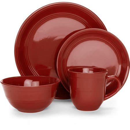 dinnerware colors mainstays stoneware assorted colors dinnerware set 16