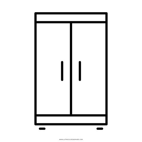 Cabinet Page by Cupboard Coloring Page Ultra Coloring Pages