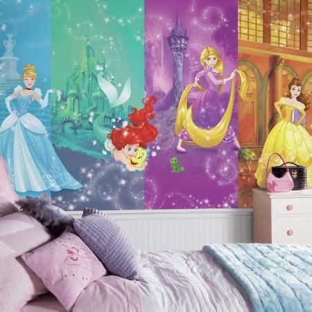 wallpaper disney murals disney princess scenes wallpaper mural 10 5 x 6 roommates