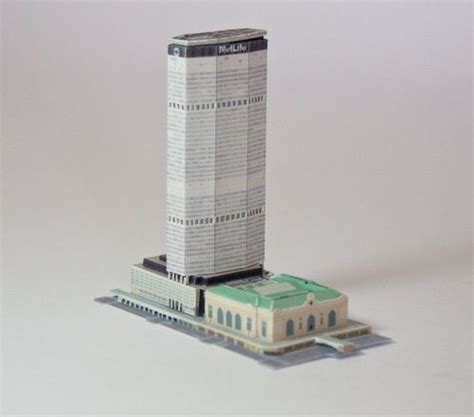 Paper Craft Central - the 25 best ideas about metlife building on