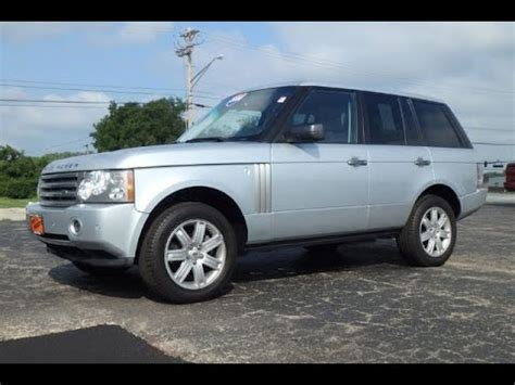 range rovers for sale in ohio 2008 land rover range rover hse for sale dayton troy piqua