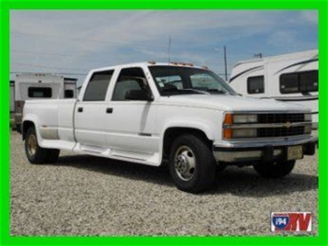 1993 chevrolet silverado 3500 1 ton dually pickup 454 auto overdrive 2wd gas classic chevrolet sell used 1993 silverado chevrolet dually 454 fuel injected 1 ton 3500 hauler no reserve in