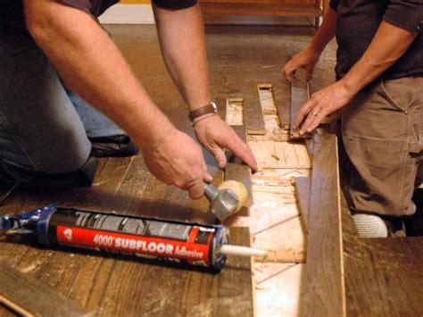How To Fix A Linoleum Floor by How To Repair Hardwood Floors How Tos Diy