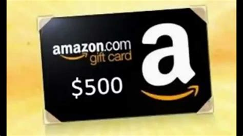 amazon gift card canada win a 500 now 2015 youtube - Where To Get Amazon Gift Cards Canada