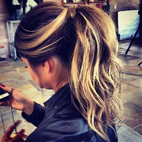 hair frosting for dark hair 17 best images about hair beauty on pinterest her hair