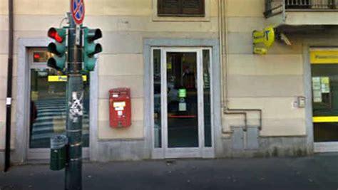 torino uffici postali rapina poste via stradella a torino oggi