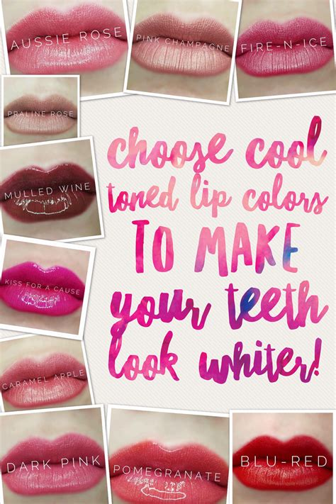 colors that make you look lipsense cool tone colors to make you teeth look whiter