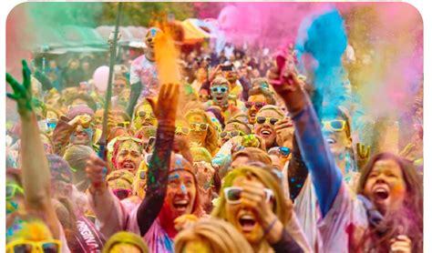 weber colour run for charity weber