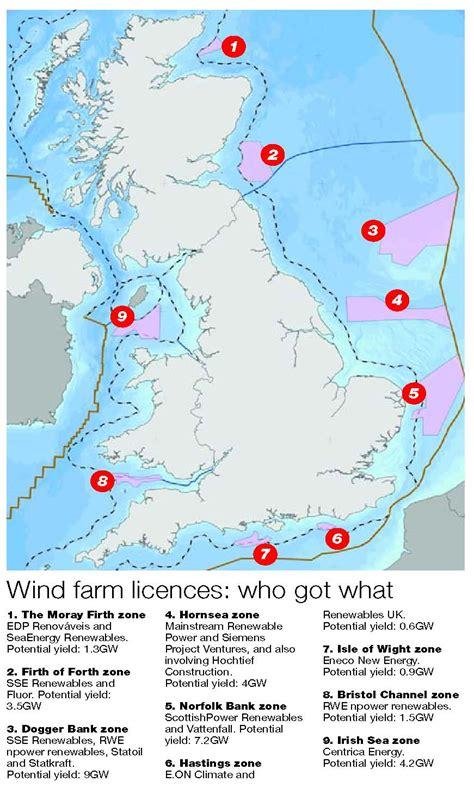 map uk wind farms wind power