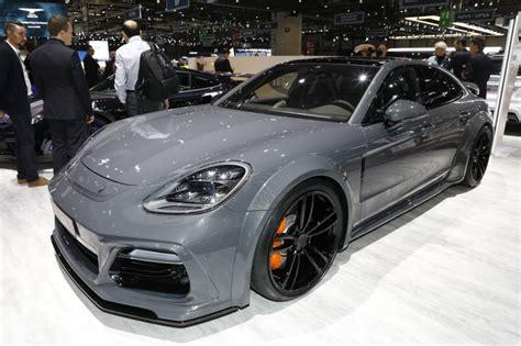 Porsche Panamera Magnum by Techart Grandgt Premi 232 Re Mondiale Pour Cette Panamera