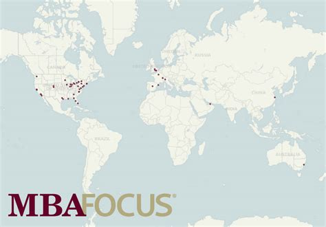 Mba With Focus In Accounting by Four New Mba Focus Partner Schools From Outside The United