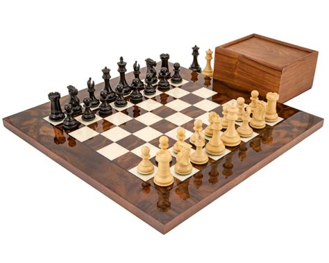 Chess Sets by Staunton Chess Sets With Boards The Regency Chess