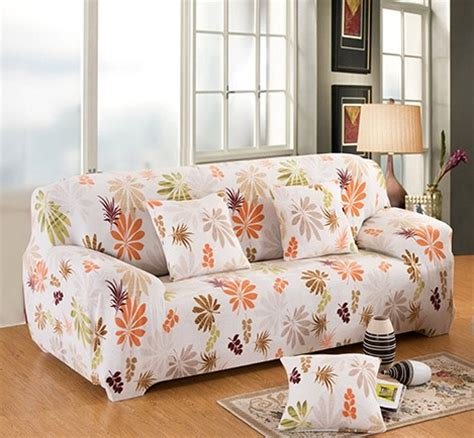 printed couch covers flower printed elastic sofa cover slipcover corner sofa