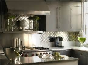 aluminum backsplash kitchen modern gray kitchens design ideas
